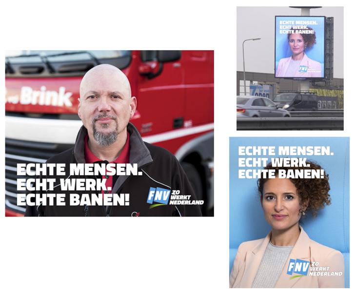 FNV - Campaign 'Echte Mensen' (2018)
